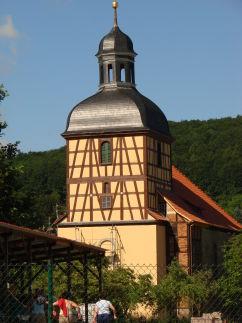 Kirche in Untermaßfeld