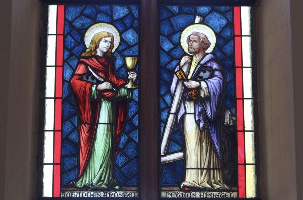 Bildfenster Kirche Dreißigacker