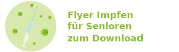 Flyer Impfen für Senioren zum Download
