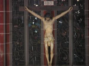 Kreuz in der Meininger Stadtkirche