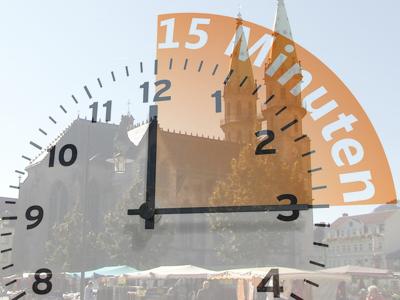 15 Minuten für Gott