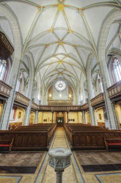 Reger-Orgel HF 3260 breit Kirchenschiff