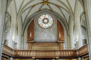 Reger-Orgel in der Meininger Stadtkirche