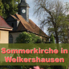 Sommerkirche in Welkershausen