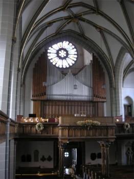 Reger-Orgel Meiningen