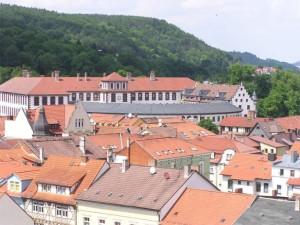 Blick über Meiningen